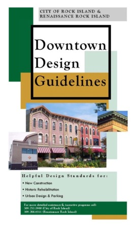 Downtown Design Guidelines Booklet Cover