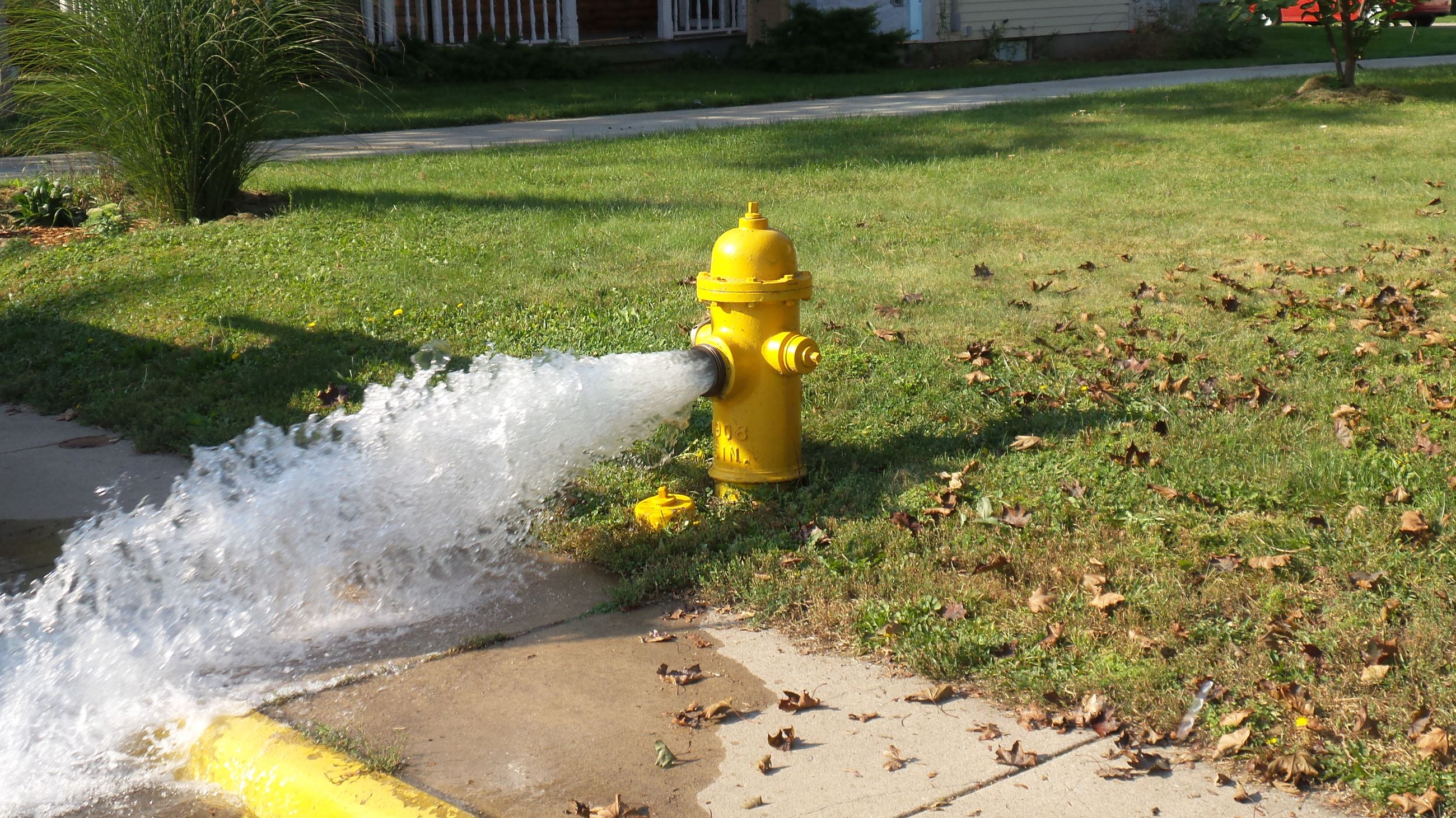 Fire Hydrant Flushing 4