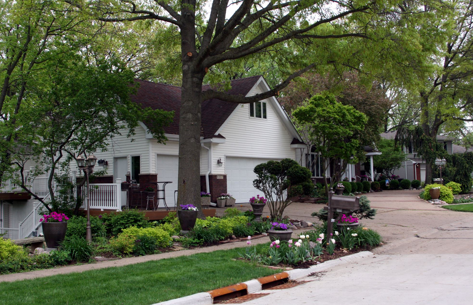 April Yard of the Month, 8807 16th Street West