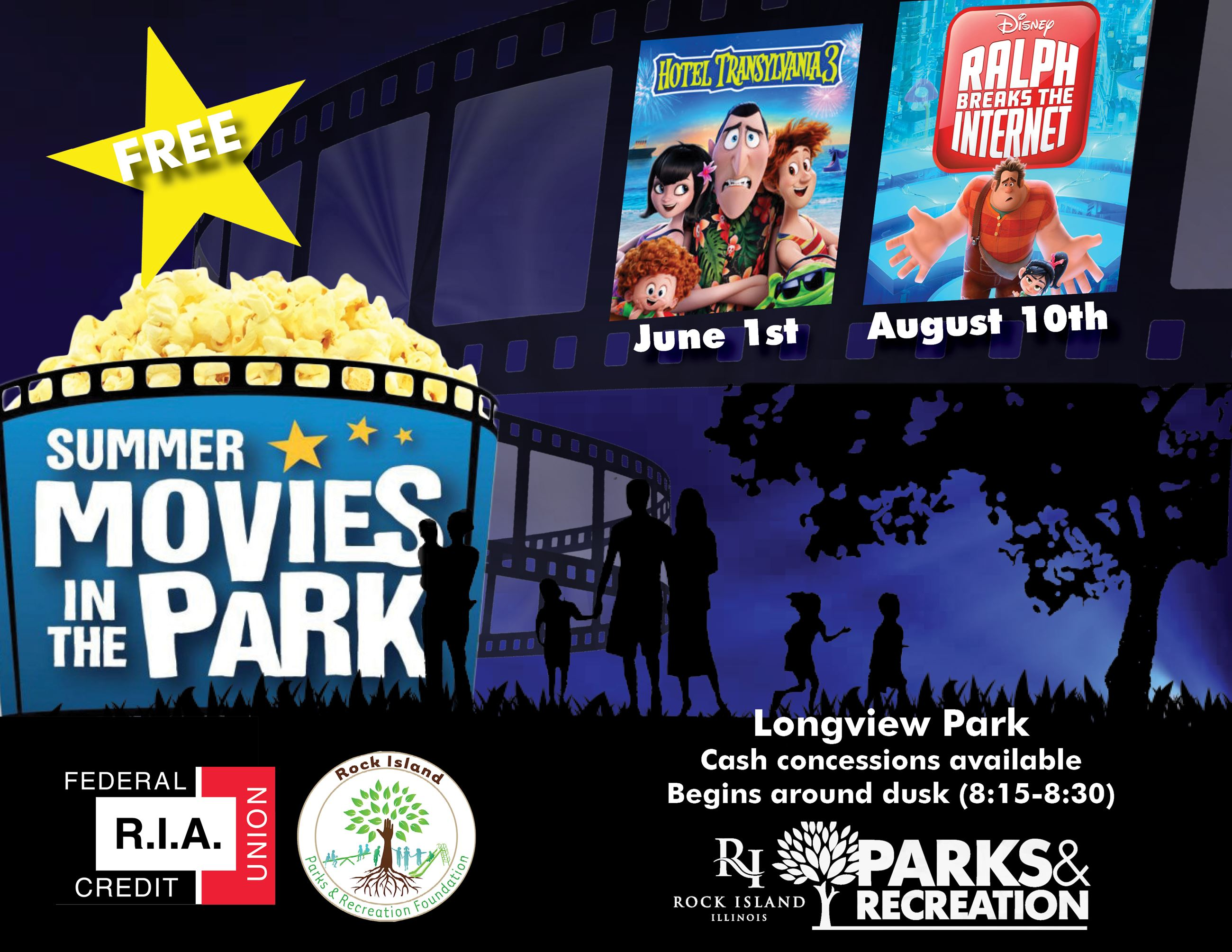 Movies in Longview Park