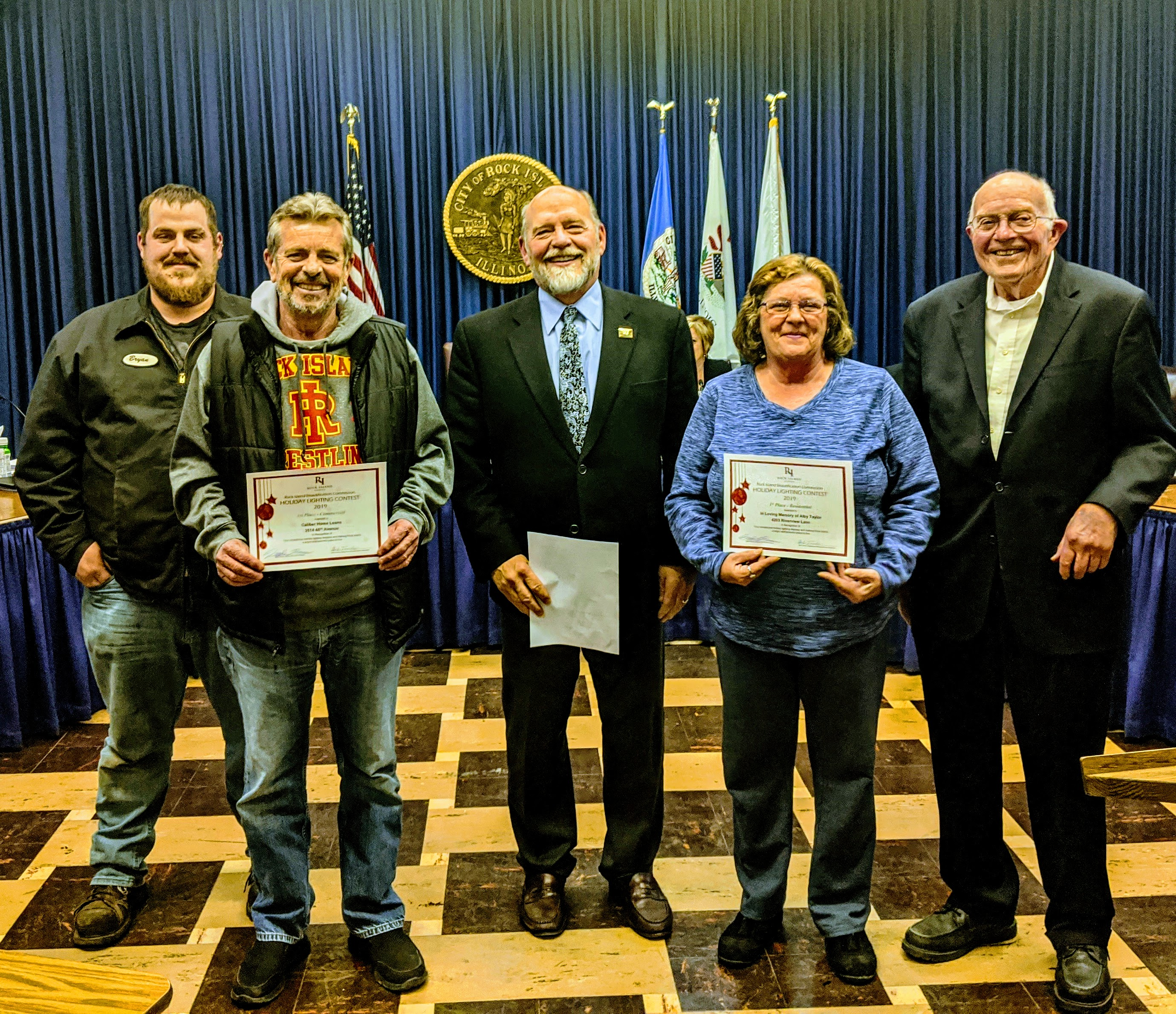 2019 Holiday Lighting Contest Presentation