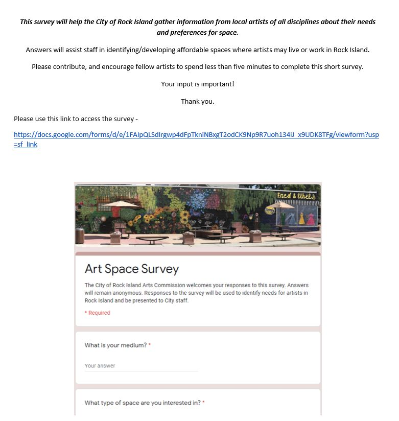 Art Space Survey