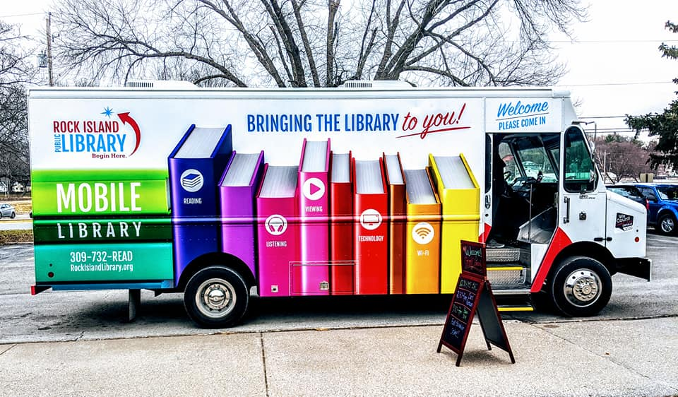 Mobile Library side view